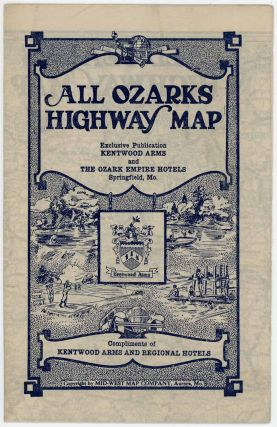All Ozarks Highway Map. OZARKS