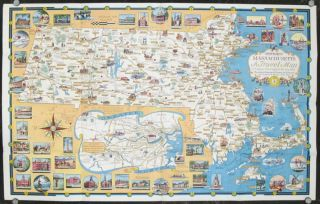 A World of Fun and Relaxation - Massachusetts The Historic Vacationland. A Travel Map to help...