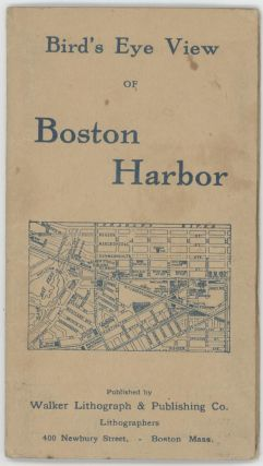 Bird's Eye View of Boston Harbor. (Map title: Boston Harbor.)