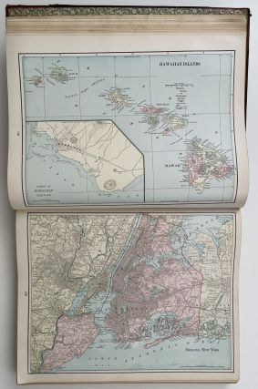 Cram's Superior Atlas of the World Indexed. (Cover title: Cram's Superior Family Atlas. The World).