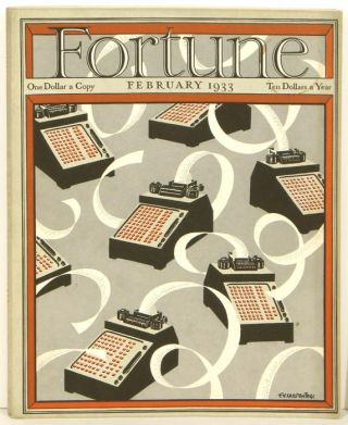 Fortune Magazine. February 1933. CIGAR LABELS / CIGAR BANDS - DIEGO RIVERA
