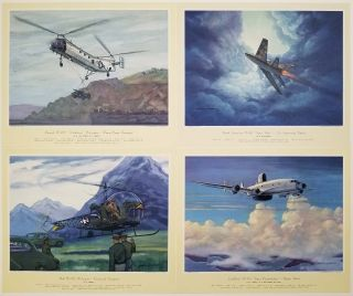 Air Power - 1955. AIRPLANES - U. S. AIR FORCE / ARMY / MARINES