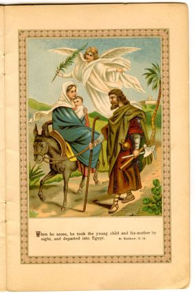 From Bethlehem to Golgotha. The life of Jesus in Pictures and Stories. No 1.