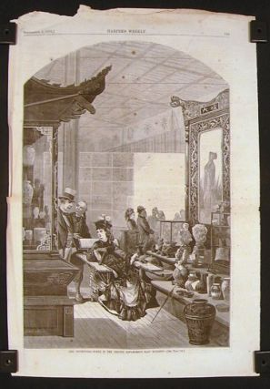 The Centennial - several pages from Harper's Weekly. PENNSYLVANIA - PHILADELPHIA - CENTENNIAL