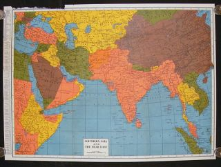 Southern Asia and the Near East. ASIA