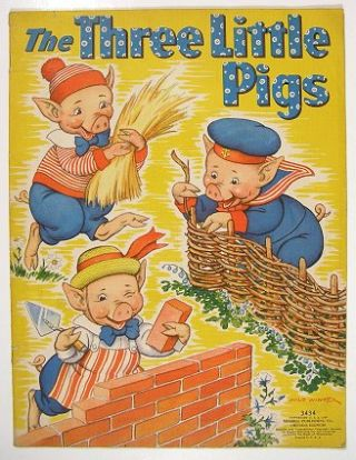 The Three Little Pigs. MILO - CHILDREN'S BOOK WINTER