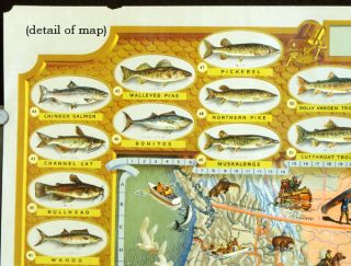 The Game Fish Cyclopedia. Designed for the Sportsmen of America by The House of Seagram Fine Whiskies Since 1851.