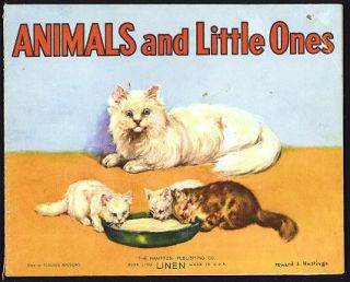 Animals and Little Ones. Virginia Mathews