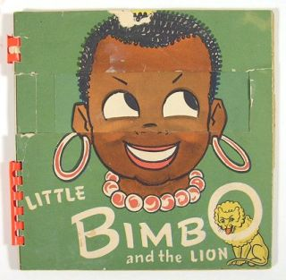 Little Bimbo and the Lion. Meg Wohlberg, written and