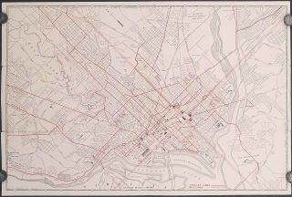 Seeing Washington by Trolley. How to Reach by Trolley Points of Interest in the National Capital. Compliments of The Capital Traction Co. Washington Ry. & Elect. Co.