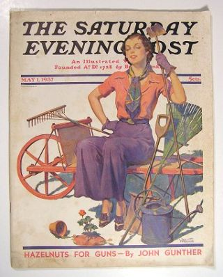 The Saturday Evening Post. 1937 - 05 - 01. SHORT FICTION AND NON-FICTION, John Gunther