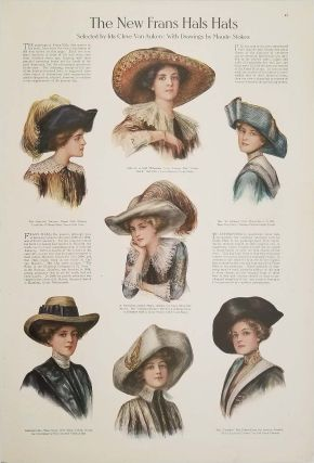 The New Frans Hals Hats. 1910s FASHION - HATS