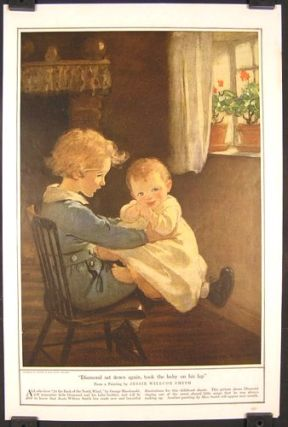 Diamond sat down again, took the baby on his lap. JESSIE WILLCOX SMITH