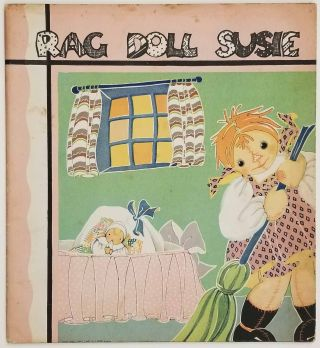 Rag Doll Susie. Her Adventures on Laughing Island. FERN BISEL PEAT, Anne Wurth