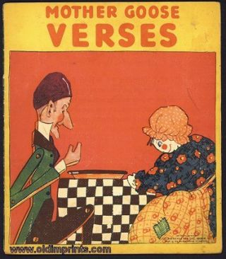 Mother Goose Verses. MOTHER GOOSE