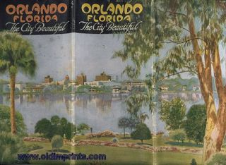 Orlando Florida. The City Beautiful. FLORIDA - ORLANDO