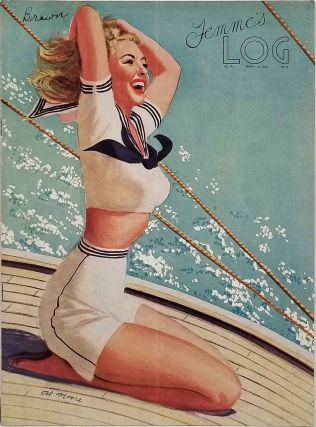 Femme's Log. WOMEN IN THE NAVY - PIN-UP