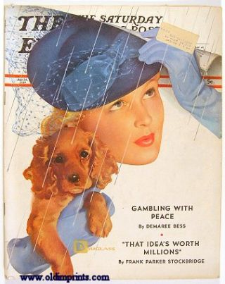 The Saturday Evening Post. 1939 - 04 - 08