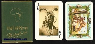 East African Playing Cards. EAST AFRICA