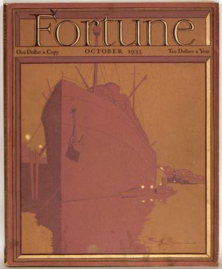 Fortune Magazine. October 1933. AGRICULTURE / COAL