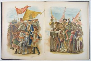 King Robert of Sicily. CHROMOLITHOGRAPHS, Henry Wadsworth Longfellow