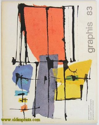Graphis. International Journal for Graphic and Applied Art. 1959 - 05/06. GRAPHIC ART - LONDON...