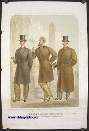 The New York Monthly. December 1877. 1870s FASHION