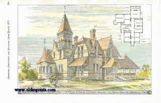 Proposed Cottage Near Columbus Ohio. H.P. Kirby & Albert Cameron Archts. ARCHITECTURE - AMERICAN...