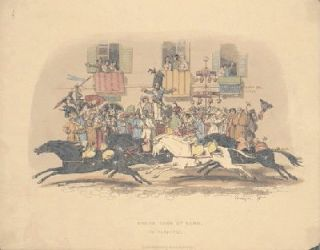 Horse Race at Rome, In Carnival. ITALY, John William Polidori