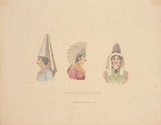 Head Dresses At Dieppe. FRANCE, John William Polidori