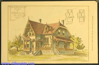Studio of A.H. Bicknell, Esq. Malden Mass. ARCHITECTURE - AMERICAN / MASSACHUSETTS