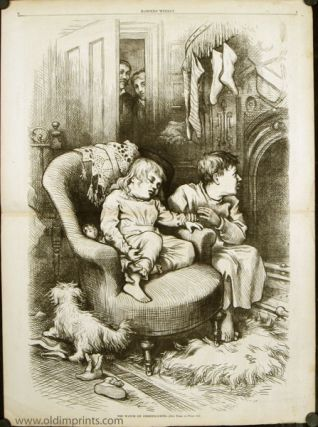 The Watch on Christmas-Eve. CHRISTMAS - THOMAS NAST.