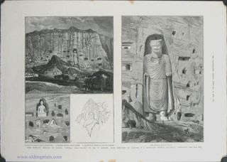 The Rock-Cut Statues of Bamian, Central Asia: The Largest Statue. / The Rock-Cut Statues of...