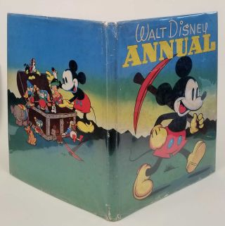 The Walt Disney Annual. [IN ORIGINAL COLOR PICTORIAL DUSTJACKET]. DISNEY - SILLY SYMPHONY STORIES