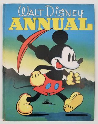 The Walt Disney Annual. [IN ORIGINAL COLOR PICTORIAL DUSTJACKET]