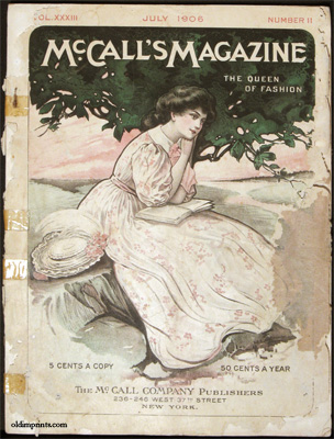 McCall's Magazine. The Queen of Fashion. 1906 - 07. FASHION
