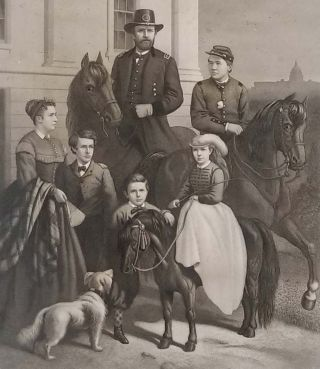 General Grant & His Family.