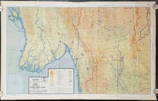 Sheet C - 44/C. Burma (South) Siam (Thailand) (West Central) French Indo China (Part of). Sheet D - 44/D. Burma (Extreme South) Siam (Thailand) (South).