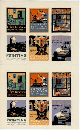 The Poster Stamp. The Pictorial Advertisement Which Speaks A Universal Language. POSTER STAMPS.