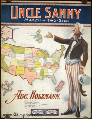 Uncle Sammy. March - Two-Step. UNITED STATES, Abe Holzmann.