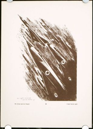 20 Years of Israel and the Six-Days-War in 28 Drawings. ISRAEL, Dr. Ben Zion Kauders, preface