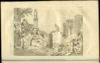 Travels in Egypt, Being a continuation of the Travels in the Holy Land, In 1817-18. EGYPT, Count...