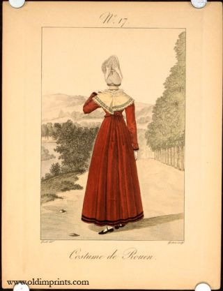 Costume de Rouen. No. 17. FRANCE