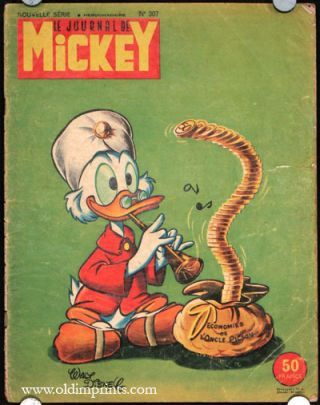 Le Journale de Mickey. Nouvelle Serie No.307. DISNEY.