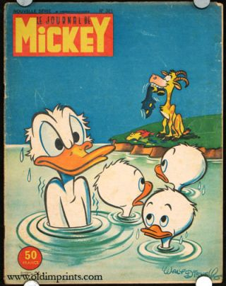 Le Journale de Mickey. Nouvelle Serie No.321. DISNEY