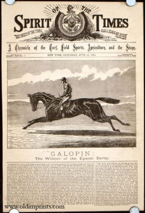 Galopin: The Winner of the Epsom Derby. HORSE RACING