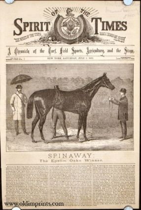 Spinaway: The Epsom Oaks Winner. HORSE RACING