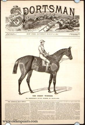 The Derby Winners. Mr. Robertson's Little Wonder, by Muley---1840. HORSE RACING