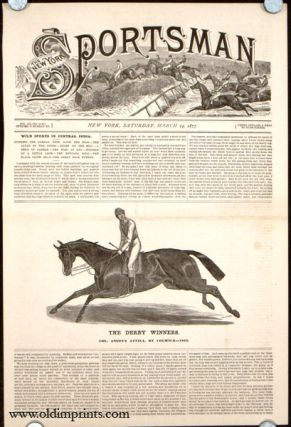 The Derby Winners. Col. Anson's Attila, by Colwick---1842. HORSE RACING