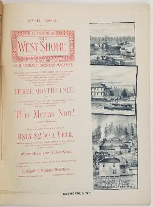 The West Shore. An Illustrated Western Magazine.